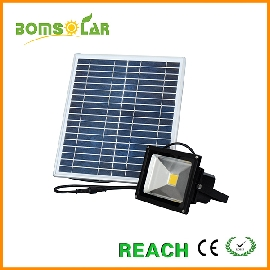 10W solar flood light