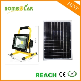 20W LED solar flood light